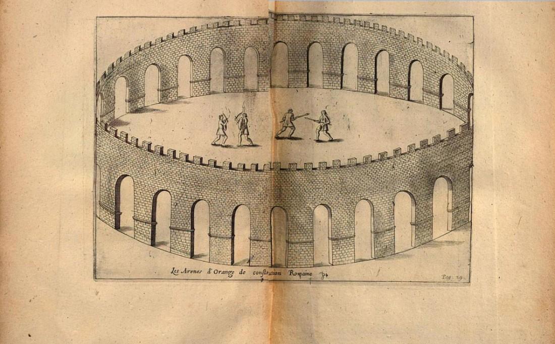 arènes romaines d'Orange secteur d'Intermarché