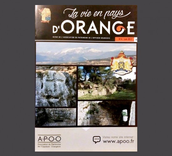 Parution de la quatrième revue en Pays d'Orange
