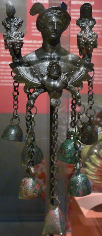 buste de Mercure bronze