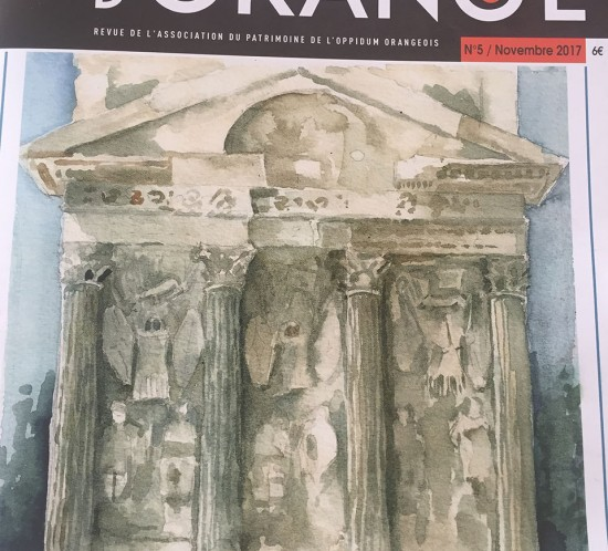 Revue association APOO n°5 patrimoine et culture en pays d'Orange