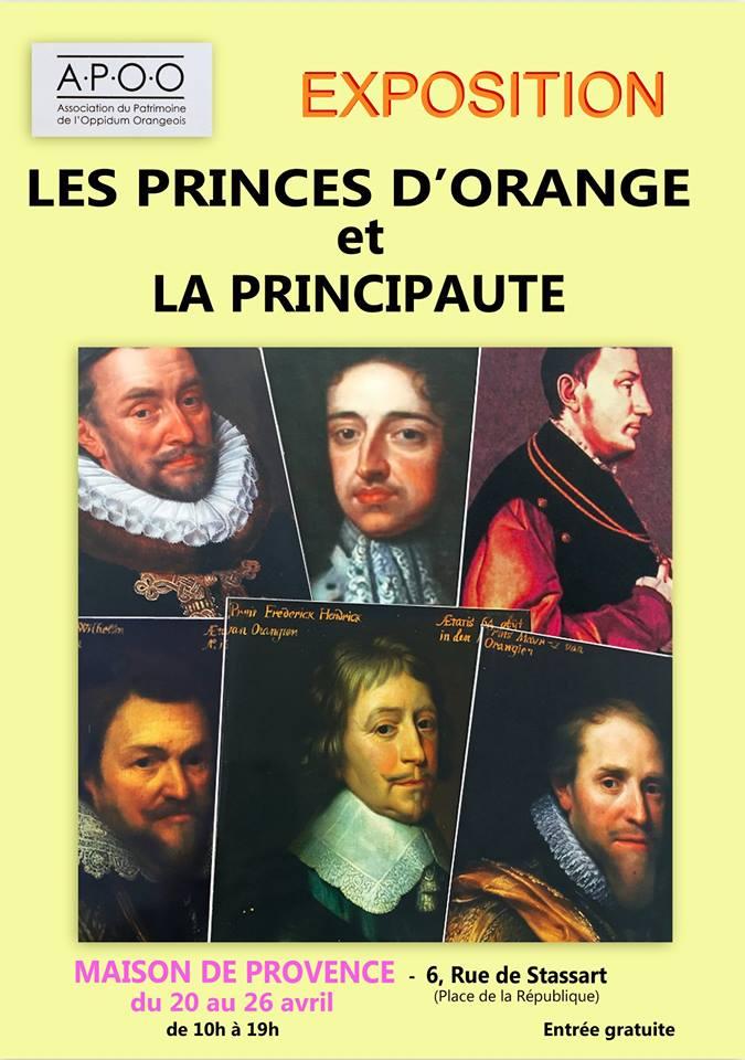 Exposition APOO Les Princes d'Orange et la Principauté