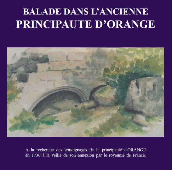 Recueil d'aquarelles Principaute d'Orange Vaucluse Daniel Grandin APOO